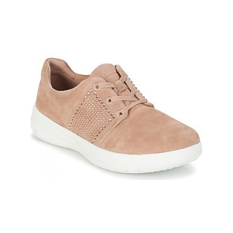 FitFlop SPORTY-POP X CRYSTAL women's Shoes (Trainers) in Pink