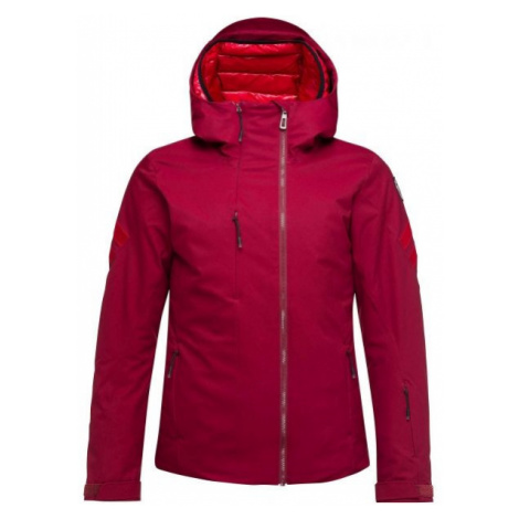 Rossignol W FONCTION JKT red wine - Women's ski jacket