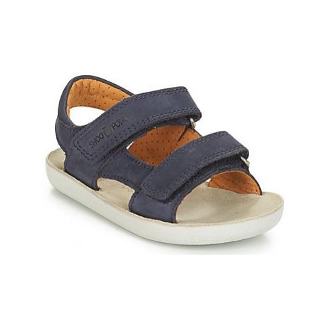 Shoo Pom GOA BOY SCRATCH NUBUCK boys's Children's Sandals in Blue