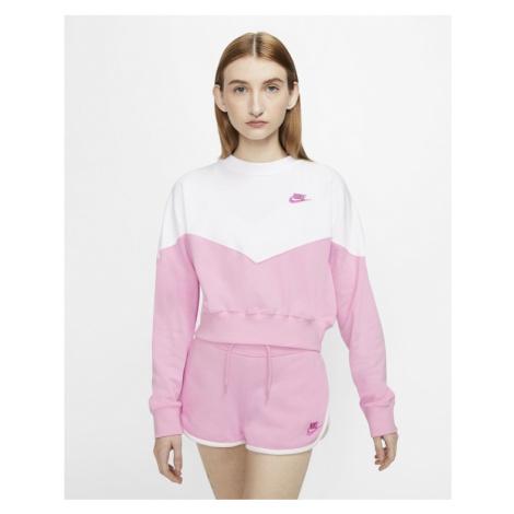 Nike Sportswear Sweatshirt Pink White