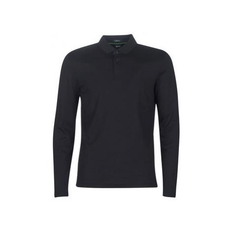 BOSS PIROL men's Polo shirt in Black Hugo Boss