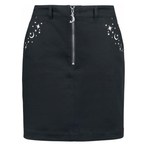 Hell Bunny Interstellar Mini Skirt Short skirt black