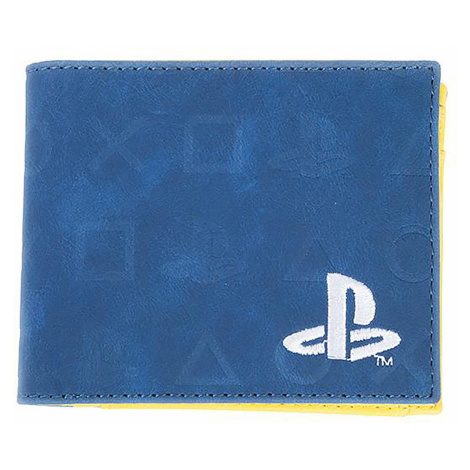 Playstation - Icons - Wallet - blue-yellow