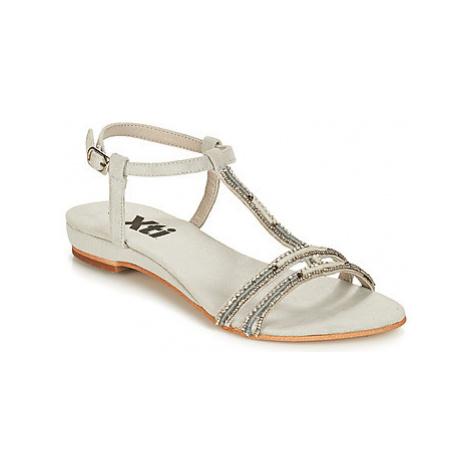 Xti 49087 women's Sandals in Silver