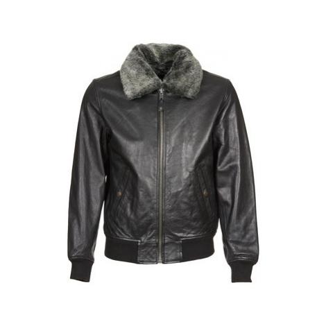 Schott LC 930 D men's Leather jacket in Black Schott NYC