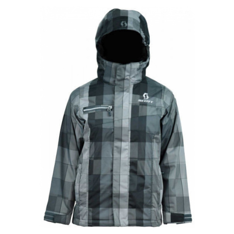 Scott FLURRY B grey - Boys' ski jacket