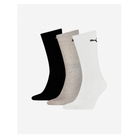 Puma Set of 3 pairs of socks Black White Grey