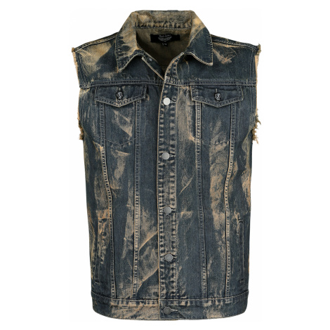 Rock Rebel by EMP - All That I've Got - Waistcoat - blue