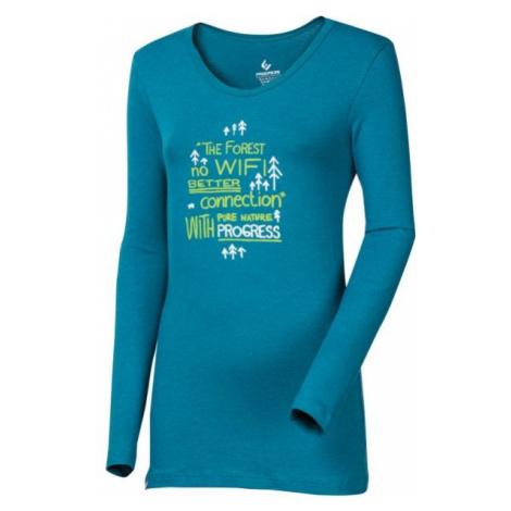 Progress SONJA NO WIFI BAMBUS blue - Womens' T-shirt