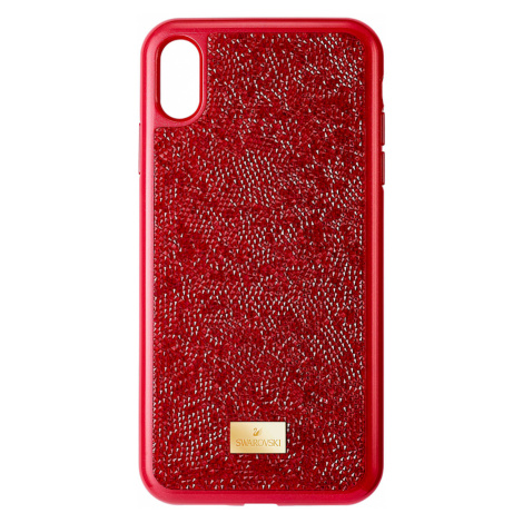 Glam Rock Smartphone Case, iPhone® XS Max, Red Swarovski