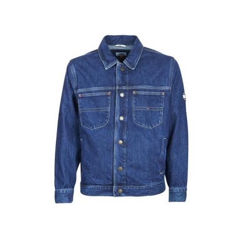 Tommy Jeans OVERSIZED TRUCKER SLMR men's Denim jacket in Blue Tommy Hilfiger