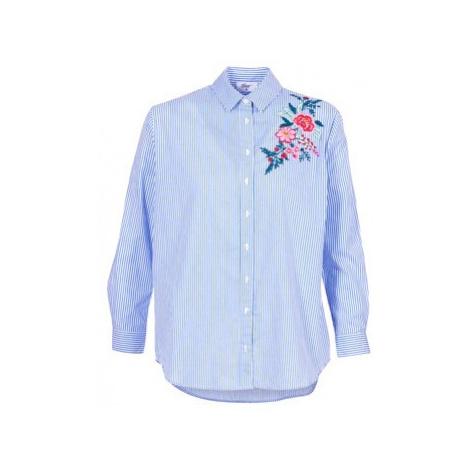 Betty London HARIEM women's Shirt in Blue