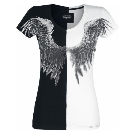 Rock Rebel by EMP - Shades Of Truth - Girls shirt - black-white