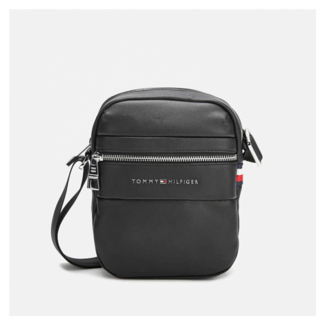 Tommy Hilfiger Men's Novelty Mix Mini Reporter Bag - Black