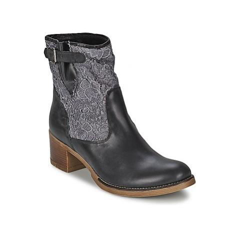 Meline ALESSANDRA women's Low Ankle Boots in Black