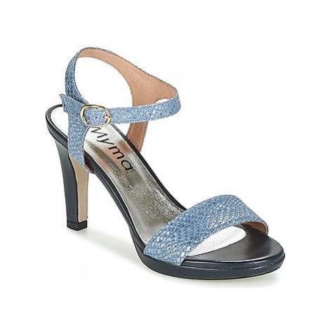 Myma MARCAS women's Sandals in Blue