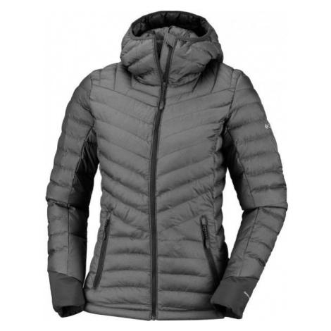 Columbia WINDGATES HOODED JACKET dark gray - Women's jacket