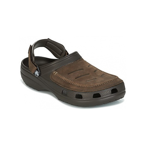 Crocs YUKON VISTA CLOG men's Clogs (Shoes) in Brown