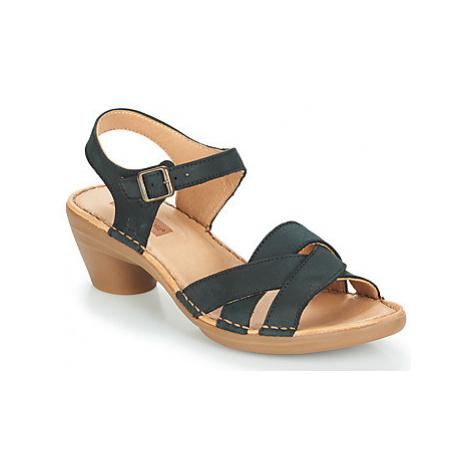 El Naturalista AQUA women's Sandals in Black
