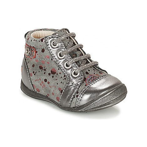 GBB NICOLE girls's Children's Shoes (High-top Trainers) in Grey