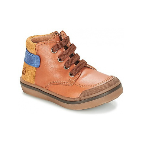 Citrouille et Compagnie JOUIZAE boys's Children's Mid Boots in Brown