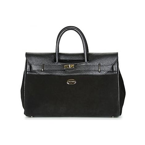 Black satchel bags