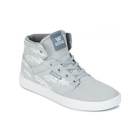 Supra KIDS YOREK HIGH girls's Children's Shoes (High-top Trainers) in Grey