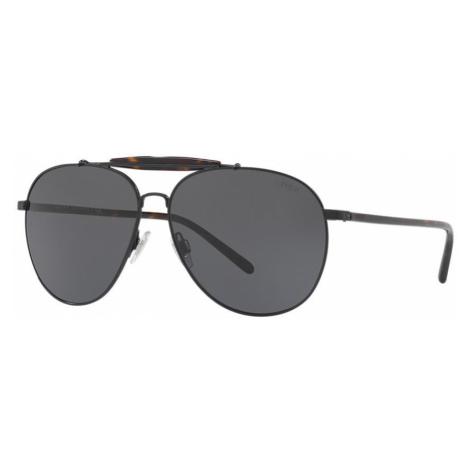 Polo Ralph Lauren Man PH3106 - Frame color: Black, Lens color: Grey-Black, Size 60-13/145