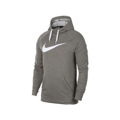 Nike Dry Hoodie Swoosh men's Sweatshirt in Grey