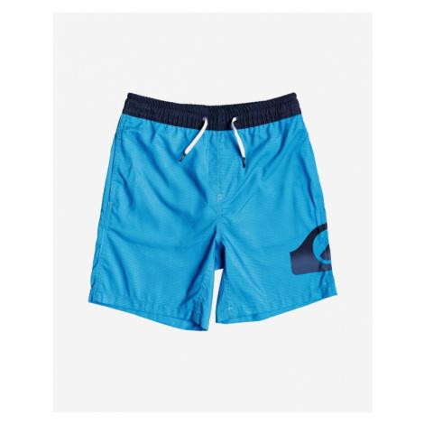 """Quiksilver Dredge 15"""" Kids Swimsuit Blue"""