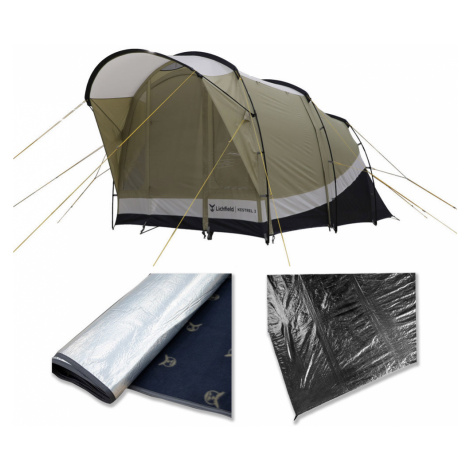 Grey camping and outdoor