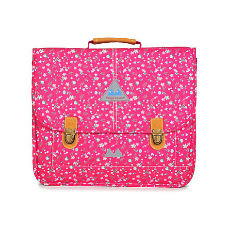 Poids Plume FLEURY CARTABLE 41 CM girls's Briefcase in Pink