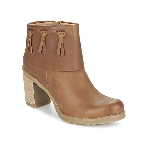 Casual Attitude CONCOLOR women's Low Ankle Boots in Brown