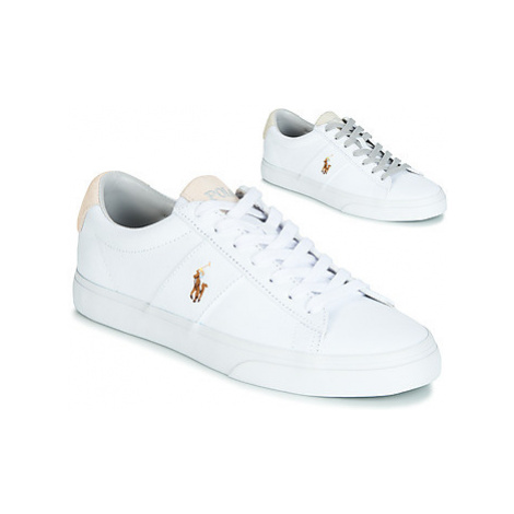 Polo Ralph Lauren SAYER men's Shoes (Trainers) in White