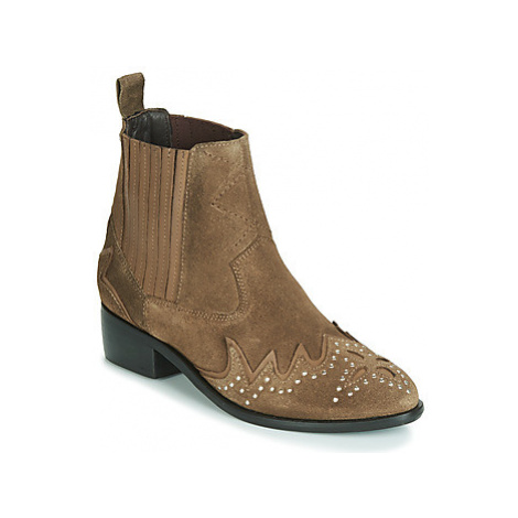 Pepe jeans CHISWICK LESSY women's Mid Boots in Brown