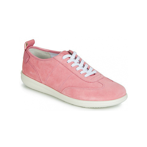 Geox D JEARL women's Shoes (Trainers) in Pink