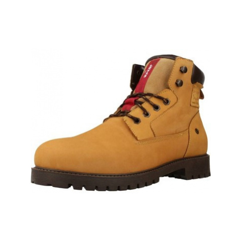Levis HODGES men's Mid Boots in Yellow Levi´s