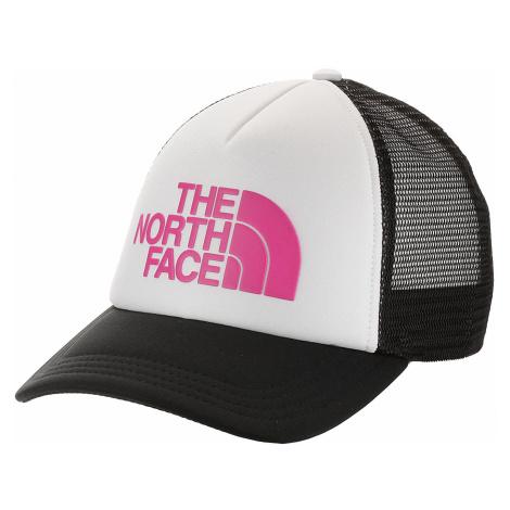 cap The North Face Logo Trucker - TNF White/MR. Pink