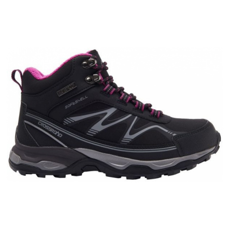 Crossroad JÖKI MID black - Women's trekking shoes