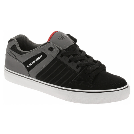 shoes DVS Celsius CT - Black/Charcoal/Red/Nubuck - men´s