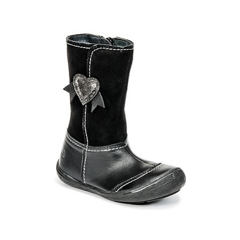 Citrouille et Compagnie HYDIL girls's Children's High Boots in Black