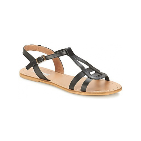 So Size DURAN women's Sandals in Black