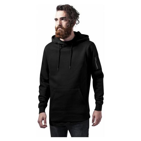 sweatshirt Urban Classics Sweat Bomber Hoody/TB1408 - Black - men´s