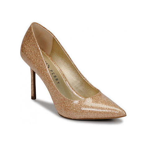 Katy Perry THE SISSY women's Court Shoes in Gold