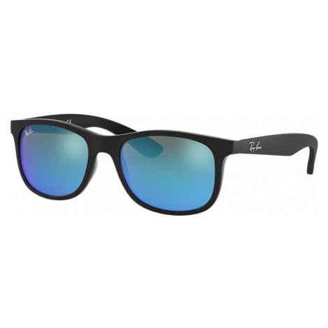 Ray Ban Unisex RJ9062S - Frame color: Black, Lens color: Blue Mirror, Size 48-16/125
