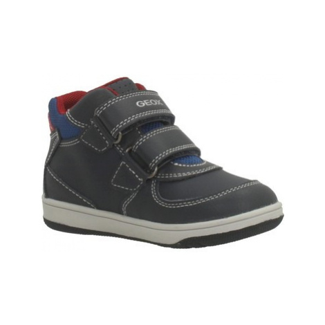 Geox NEW FLICK boys's Children's Shoes (High-top Trainers) in Blue