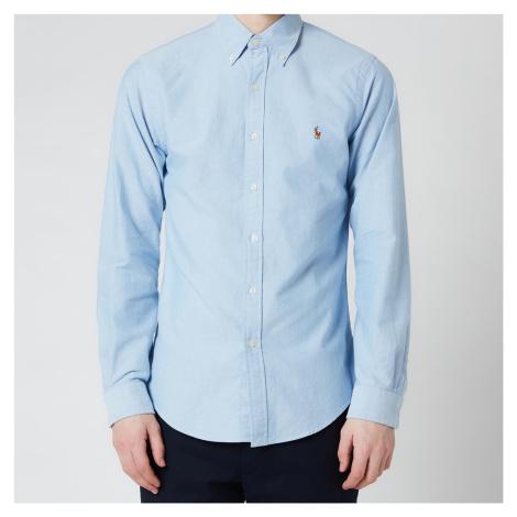 Polo Ralph Lauren Men's Slim Fit Oxford Shirt - Blue - Blue