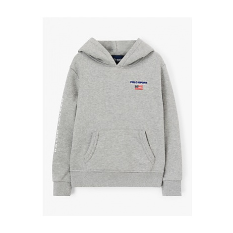 Polo Ralph Lauren Boys' Neon Logo Fleece Hoodie