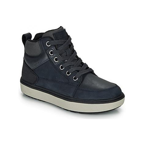 Geox J MATTIAS B BOY ABX boys's Children's Shoes (High-top Trainers) in Blue