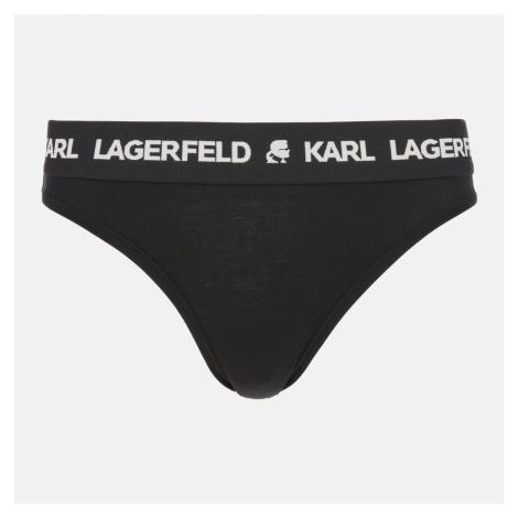 KARL LAGERFELD Women's Logo Brief - Black